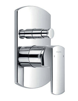 Dekka Concealed Manual Shower Valve With 2 Way Diverter