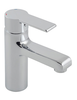 Ion Mono Basin Mixer Tap Without Clic-Clac Waste - ION-100-SB