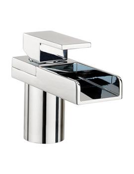 Water Square Monobloc Basin Mixer Tap - WS110DNC