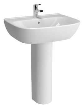 Zentrum 650mm Basin And Full Pedestal