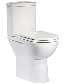 Tavistock Micra Comfort Height WC With Cistern And Soft Close Seat