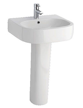 Eternity Square Basin 550 x 470mm 1TH - EC102
