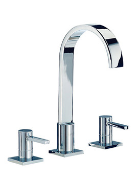 Wave 3 Tap Hole Basin Mixer Tap With Pop Up Waste - RDL013