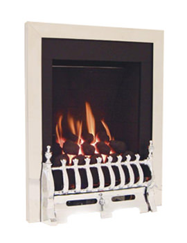 Windsor Manual Control Traditional Gas Fire Silver - FSRC3JMN