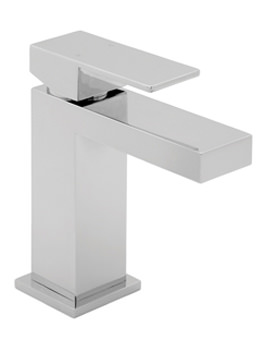 Savvi Mono Basin Mixer Tap With Press Top Waste - SAVV113