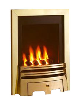 Related Flavel Windsor Manual Control Classic Inset Gas Fire Brass - FSRC1SMN