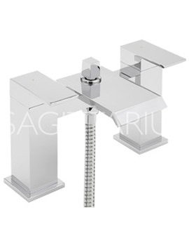 Related Sagittarius Dakota Bath Shower Mixer Tap With Handset Kit