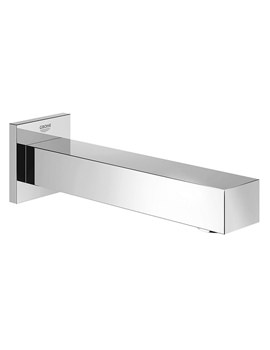 Eurocube Wall Mounted Chrome Bath Spout With Mousseur - 13303000