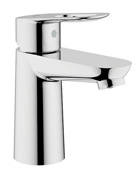 BauLoop Chrome Basin Mixer Tap - 23337000