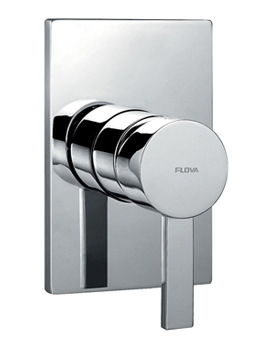 Related Flova Str8 Concealed Manual Shower Valve With Large Plate