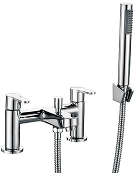 Beo Grace Bath Shower Mixer Tap With Shower Kit And Wall Bracket
