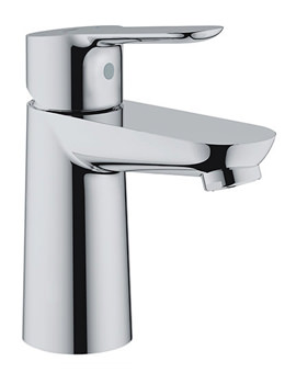 BauEdge Half Inch Chrome Basin Mixer Tap Without Waste - 23330000