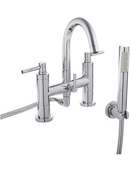 Tec Lever Bath Shower Mixer Tap With Kit - TEL354