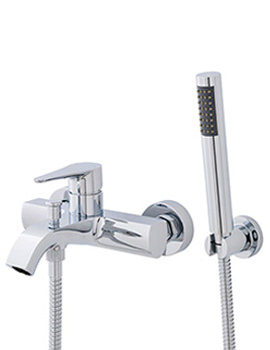 Related Lauren Ellis Wall or Deck Mounted Bath Shower Mixer Tap With Kit