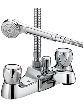 Value Club Luxury Bath Shower Mixer Tap - VAC LBSM C MT