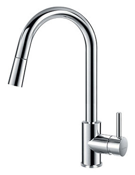 Levo Pull-Down Spray Single Lever Kitchen Sink Mixer Tap