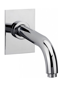 Milan Wall Mounted Bath Spout Chrome - 63240