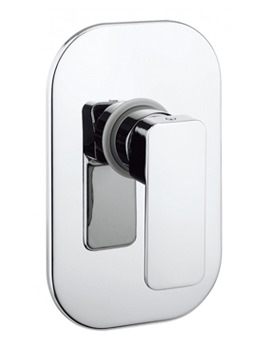 Crosswater Atoll Recessed Manual Shower Valve - AT0004RC
