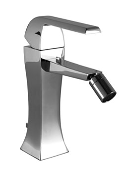 Noken Dune Single Lever Bidet Mixer Tap With Pop-Up Waste