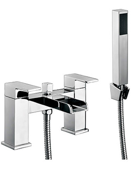 Beo Melbourne Bath Shower Mixer Tap With Shower Kit And Wall Bracket