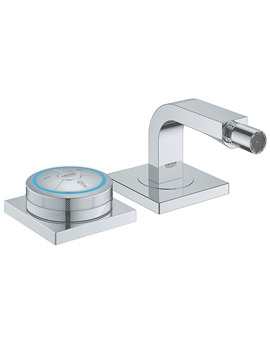 Related Grohe Spa Allure F Digital Chrome Bidet Mixer Tap With Digital Controller