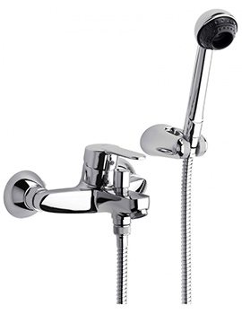 V2 Wall Mounted Bath Shower Mixer Tap - 5A0125C00
