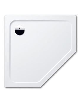 Kaldewei Avantgarde Cornezza 1000 x 1000 x 25 Steel Shower Tray White