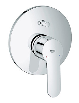 Eurostyle Cosmopolitan Single Lever Bath Shower Mixer Trim