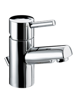 Eco Click Basin Mixer Tap With Pop Up Waste - PM EBAS C