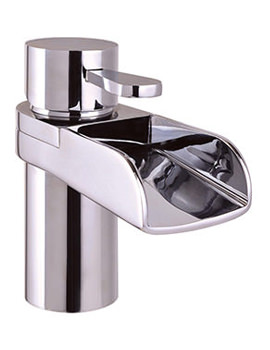 Related Mayfair Lila Mono Basin Mixer Tap With Click Clack Waste - LIL009