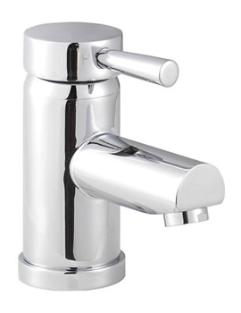 Siron Top Action Lever Basin Mixer Tap With Push Button Waste
