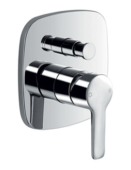 Urban Concealed Manual Shower Valve With Diverter
