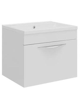 Related Hudson Reed Memoir Compact White Wall Mounted Unit - FME037
