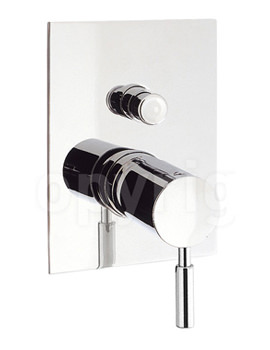 Design Recessed Manual Shower Valve with Diverter