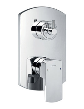 Dekka Concealed Manual Shower Valve With 3 Way Diverter
