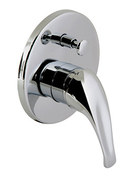 Matrix Concealed Wall Mounted Shower Valve With Diverter - MAT-147