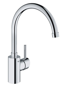 Concetto Single Lever High Spout Monobloc Sink Mixer Tap-32661001