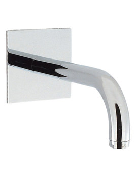 Design Wall Mounted 160mm Bath Spout - DE0370WC