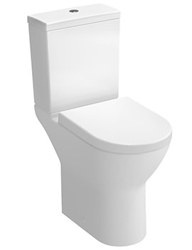 VitrA S50 Comfort Height Close Coupled Toilet With Cistern And Seat - Image