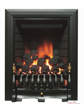 Classic Traditional Full Depth Inset Gas Fire Black - 9571