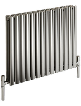 Reina Nerox Double Polished Horizontal Radiator 413mm Wide x 600mm High