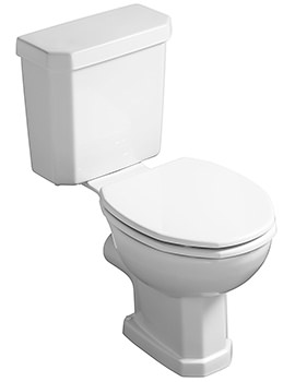 Plaza Close Coupled WC With Cistern 670mm