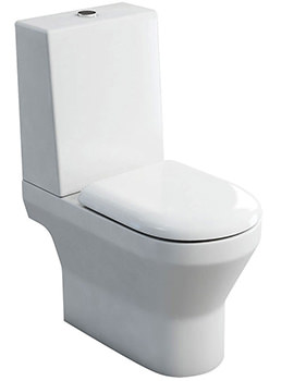 Curve S30 Open Back Close Coupled WC With One Piece Cistern