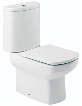 Roca Senso WC Pan With Cistern And Toilet Seat 660mm - 342514000