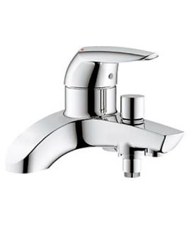 Eurodisc Half Inch Deck Mounted Bath Shower Mixer Tap - 25108000
