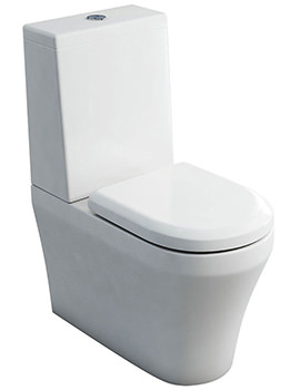Fine S40 Close Coupled WC And Cistern With Lid