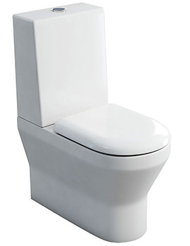 Curve S30 BTW Close Coupled WC With One Piece Cistern