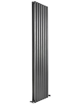 Cove 295 x 1800mm Double Sided Vertical Radiator Anthracite