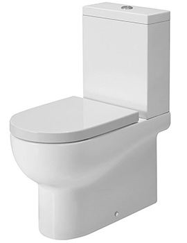 Nuvola Close Coupled WC Pan 650mm Projection