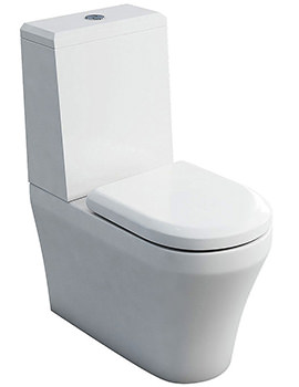 Fine S40 Close Coupled WC With Cistern Angled Lid